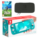 Nintendo Switch Lite (Turquoise) The Legend of Zelda: Breath of the Wild Pack