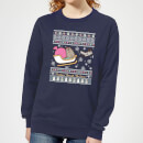 Pusheen Through The Snow Christmas Sweatshirt