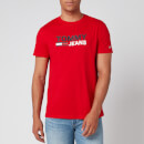 Tommy Jeans Men's Corporate Logo T-Shirt - Deep Crimson