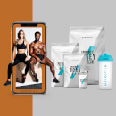 The Build-Muscle Bundel + Gratis Training & Nutrition Guide - Cola - Blue Raspberry - Banana