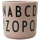 Design Letters Eat & Learn ABC Melamine Cup - Nude