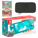 Nintendo Switch Lite (Turquoise) Pokémon Mystery Dungeon Rescue Team DX Pack
