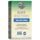 Raw Enzymes Men 50+ and Wiser - 90 Capsules