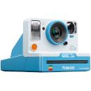 White & Blue Instant Polaroid Camera