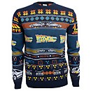 Back To The Future Christmas Knitted Jumper