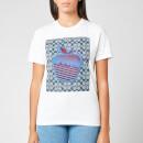 Coach 1941 Women's Apple Graphic T-Shirt - White