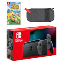 Nintendo Switch (Grey) Animal Crossing: New Horizons Pack