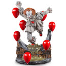 Iron Studios Pennywise Deluxe Art Scale Statue