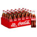 Coca-Cola Original Taste 24 x 330ml Glass Bottles
