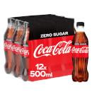 Coca-Cola Zero Sugar 12 x 500ml