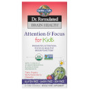 Dr. Formulated Brain Health Organic Attention/Focus Kids 60ct Chewables