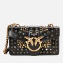 Pinko Women's Love Mini Icon New Studs Bag - Black