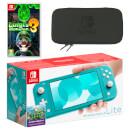 Nintendo Switch Lite (Turquoise) Luigi's Mansion 3 Pack