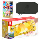 Nintendo Switch Lite (Yellow) Super Mario 3D All-Stars Pack