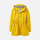 Joules Women's Shoreside Waterproof A-Line Coat - Antique Gold