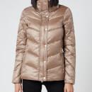 Barbour International Women's Parson Quilt Coat - Soft Gold