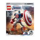 LEGO Marvel Avengers Captain America Mech Armour (76168)