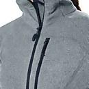 Women's Spectrum Micro Fleece Half Zip 2.0 - Light Grey