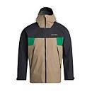 Men's Sky Hiker Waterproof Jacket - Beige / Grey / Green