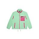 Unisex Ascent 91 Fleece - Light Green / Pink