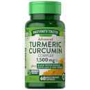 Advanced Turmeric Curcumin Complex 1500mg with Black Pepper Extract, Olive Leaf & Tart Cherry - 60 Capsules