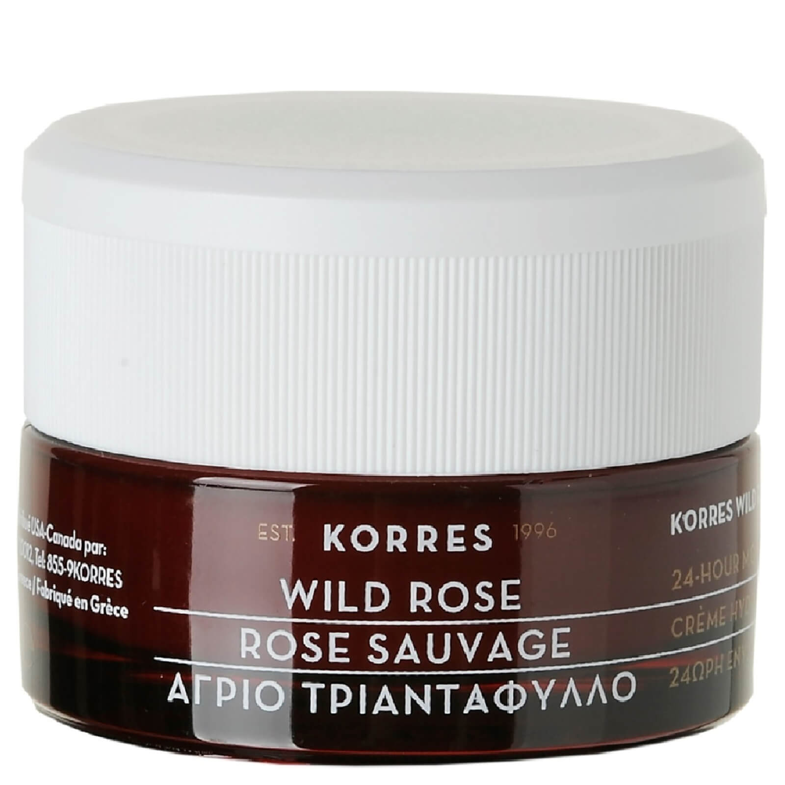 KORRES Natural Wild Rose Brightening Day Cream for Normal/Dry Skin 40ml