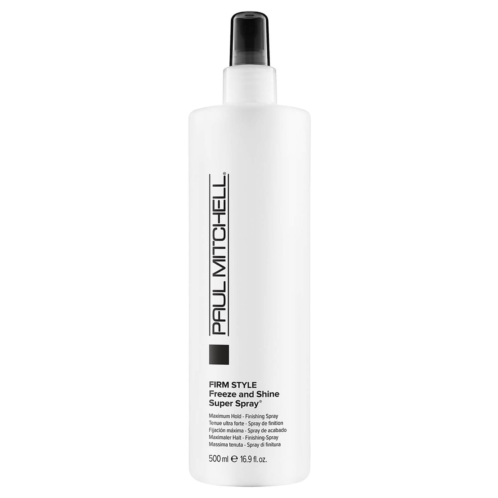 2721078797 Paul Mitchell Firm Style Freeze And Shine Super Spray (500ml)