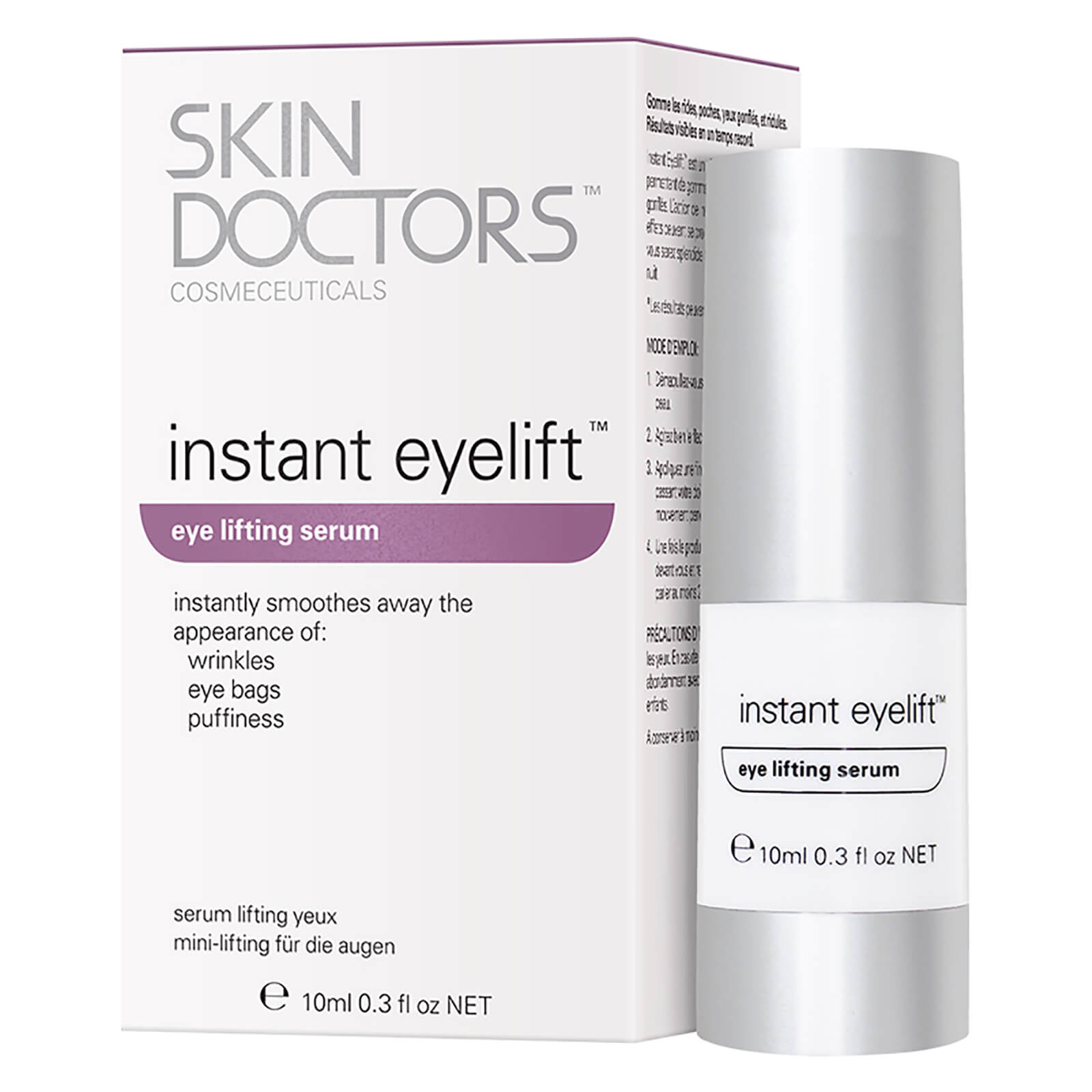 skin doctors instant eyelift review