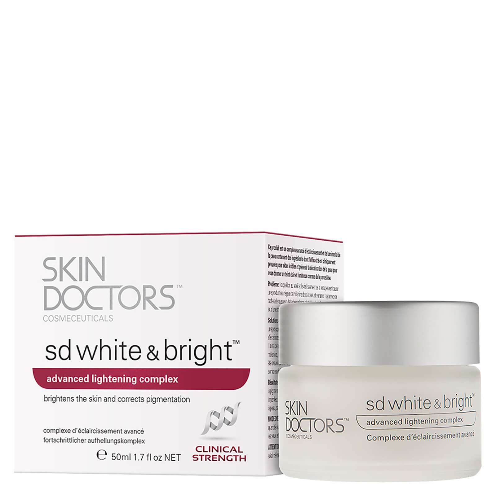 Skin Doctors SD White and Bright Soin éclaircissant  (50ml)