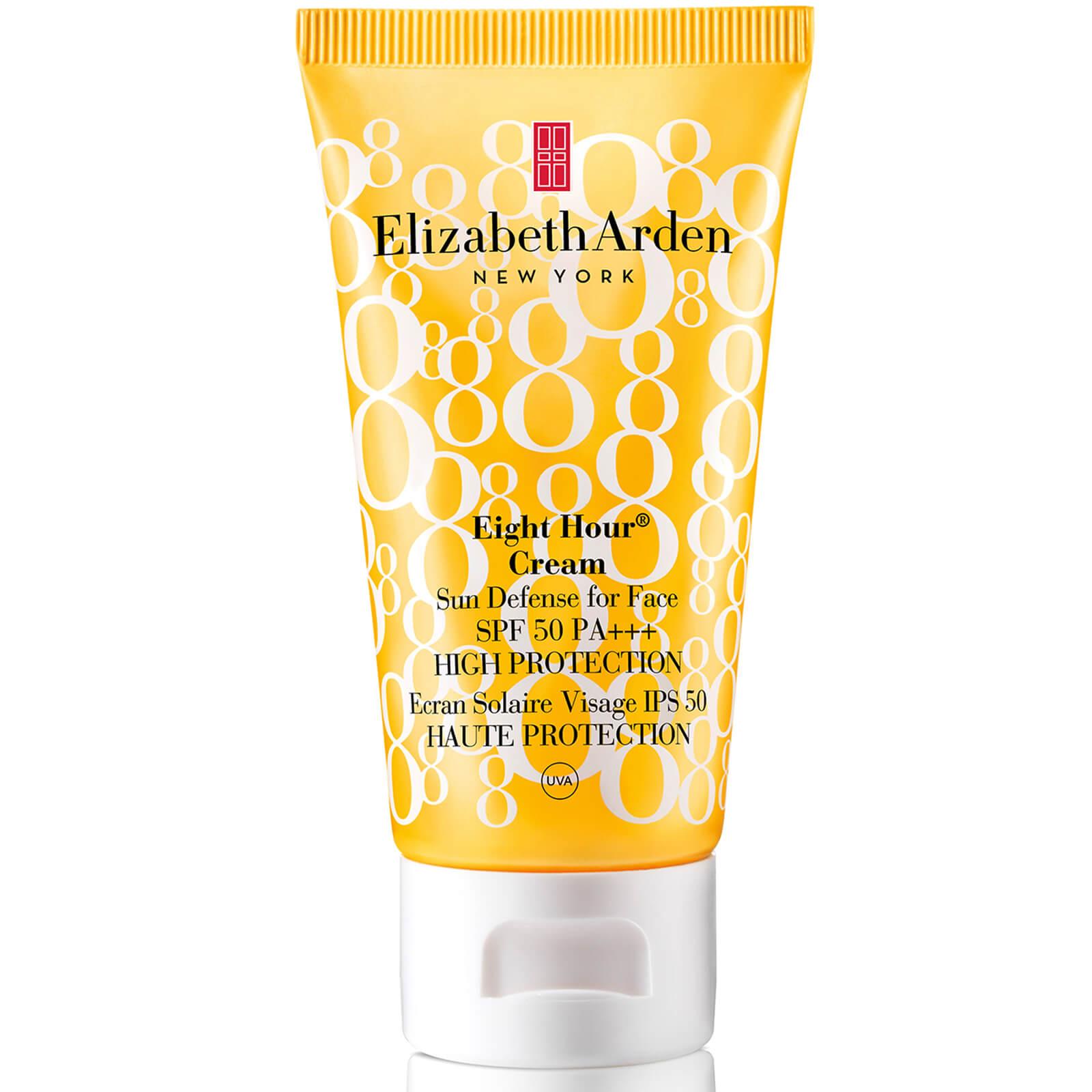 8f9a677b4 Elizabeth Arden Eight Hour Cream Sun Defense For Face Spf 50 (50ml) | Free  Shipping | Lookfantastic