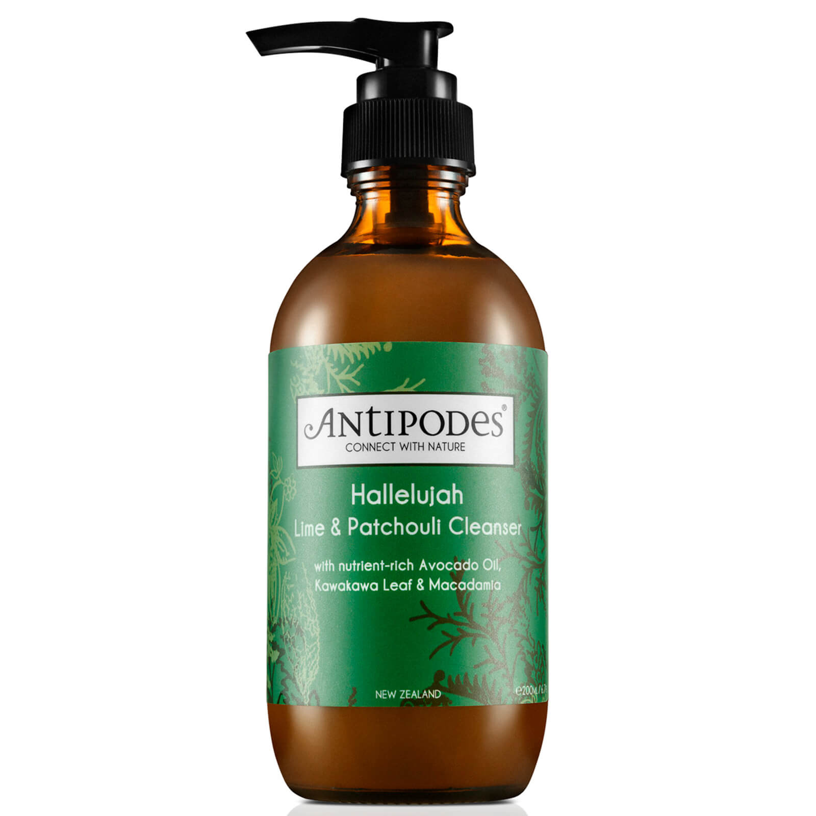 Antipodes Hallelujah Lime & Patchouli Cleanser 200ml