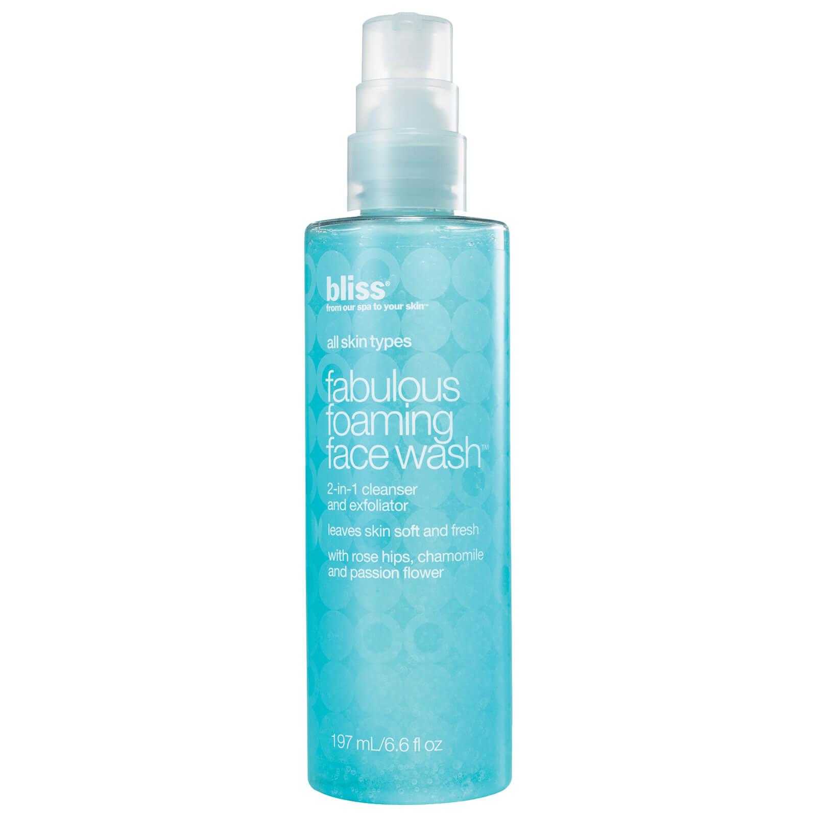 Bliss Fabulous Foaming Face Wash 200ml Beautyexpert Garnier Light Complete White Speed Super Foam 10 100ml Product Description