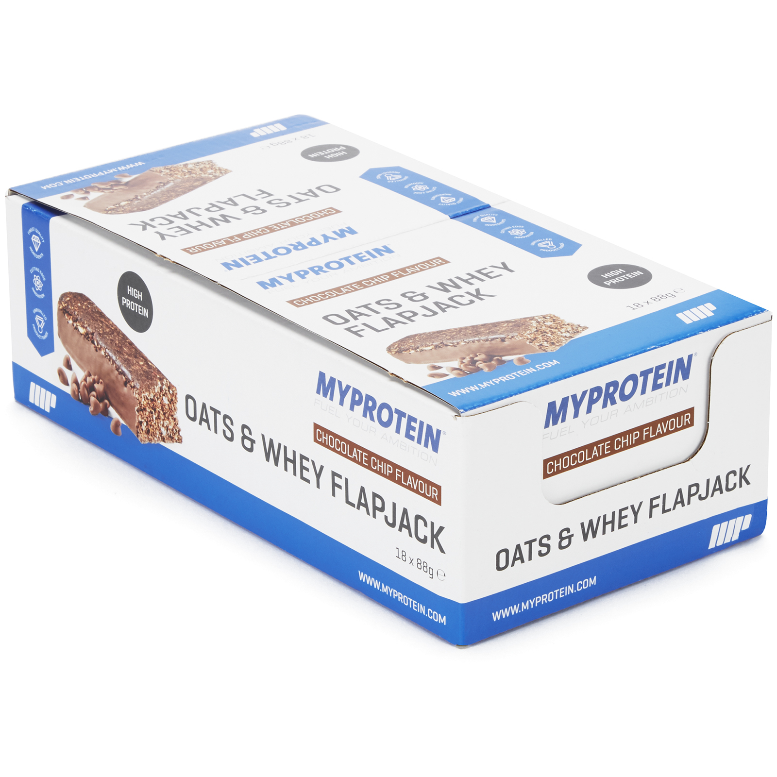 MyBar Oats & Whey - Chocolate Chip, 18 Bars