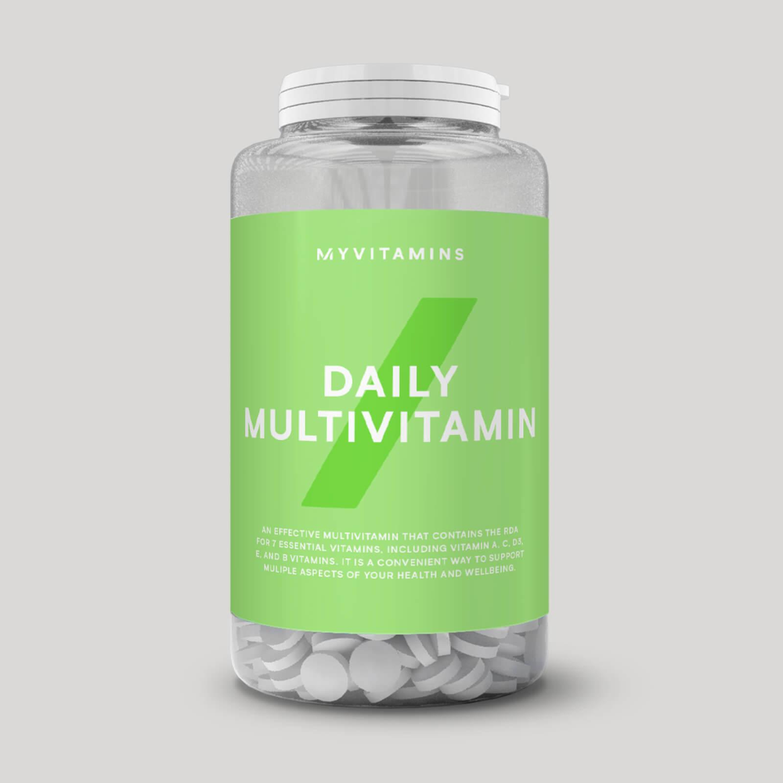 デイリー マルチビタミン タブレット - 60錠