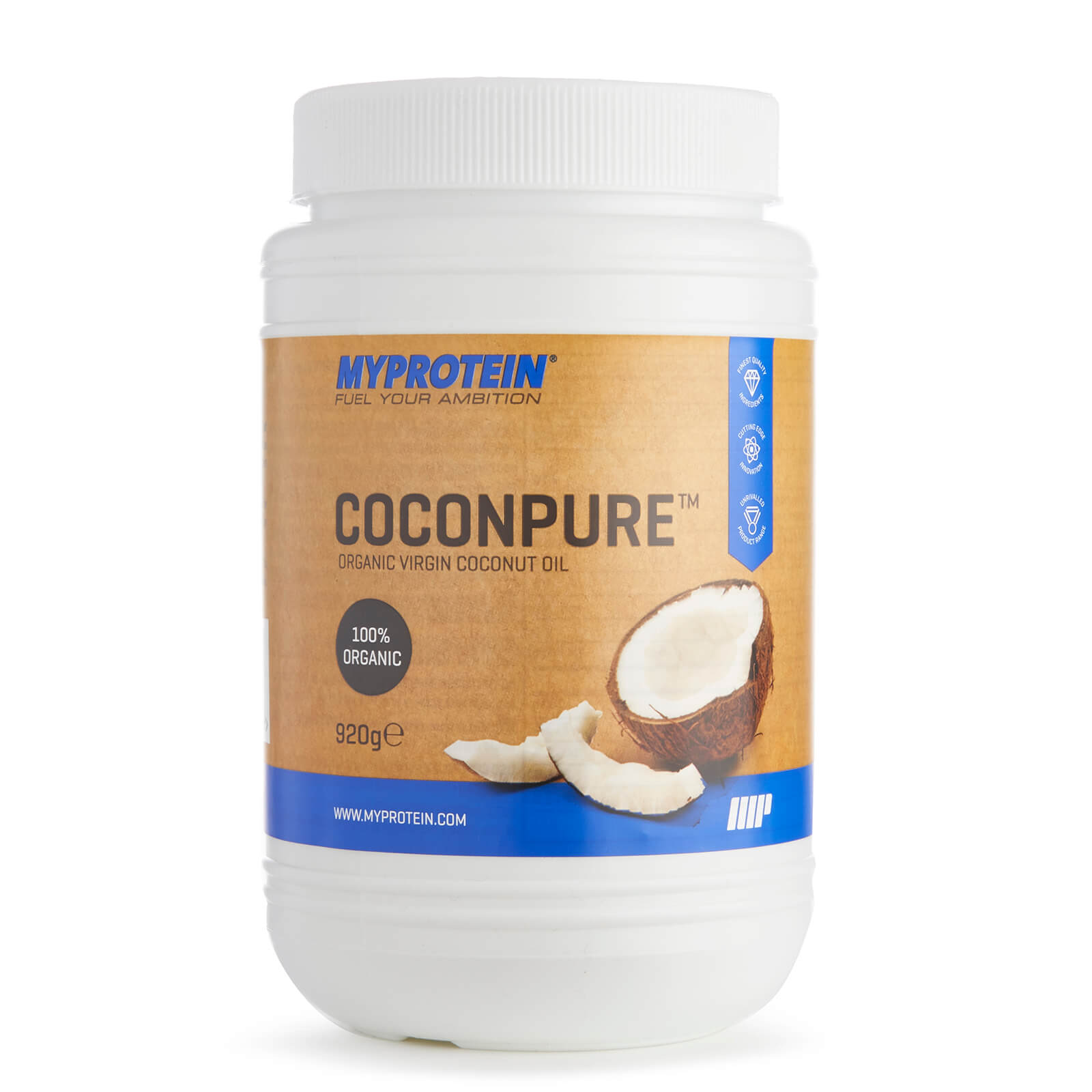 Coconpure (Coconut Oil) - Unflavoured - 460g