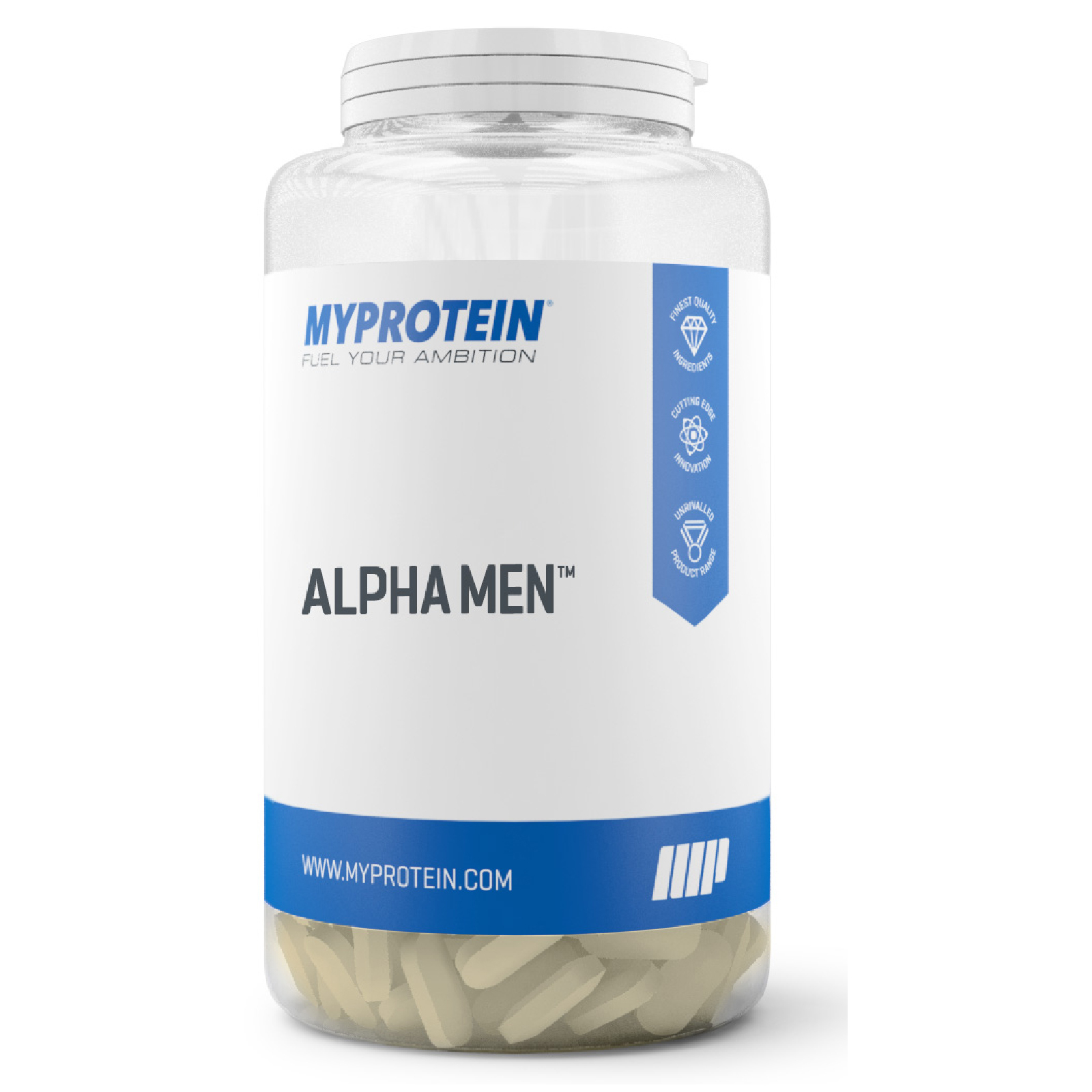 Alpha Men - Naturel - Bakje - 120 Tabletten