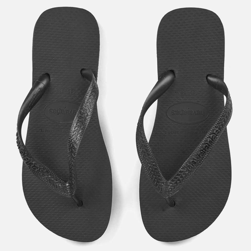 b95c639568d3 Havaianas Top Flip Flops - Black Womens Footwear