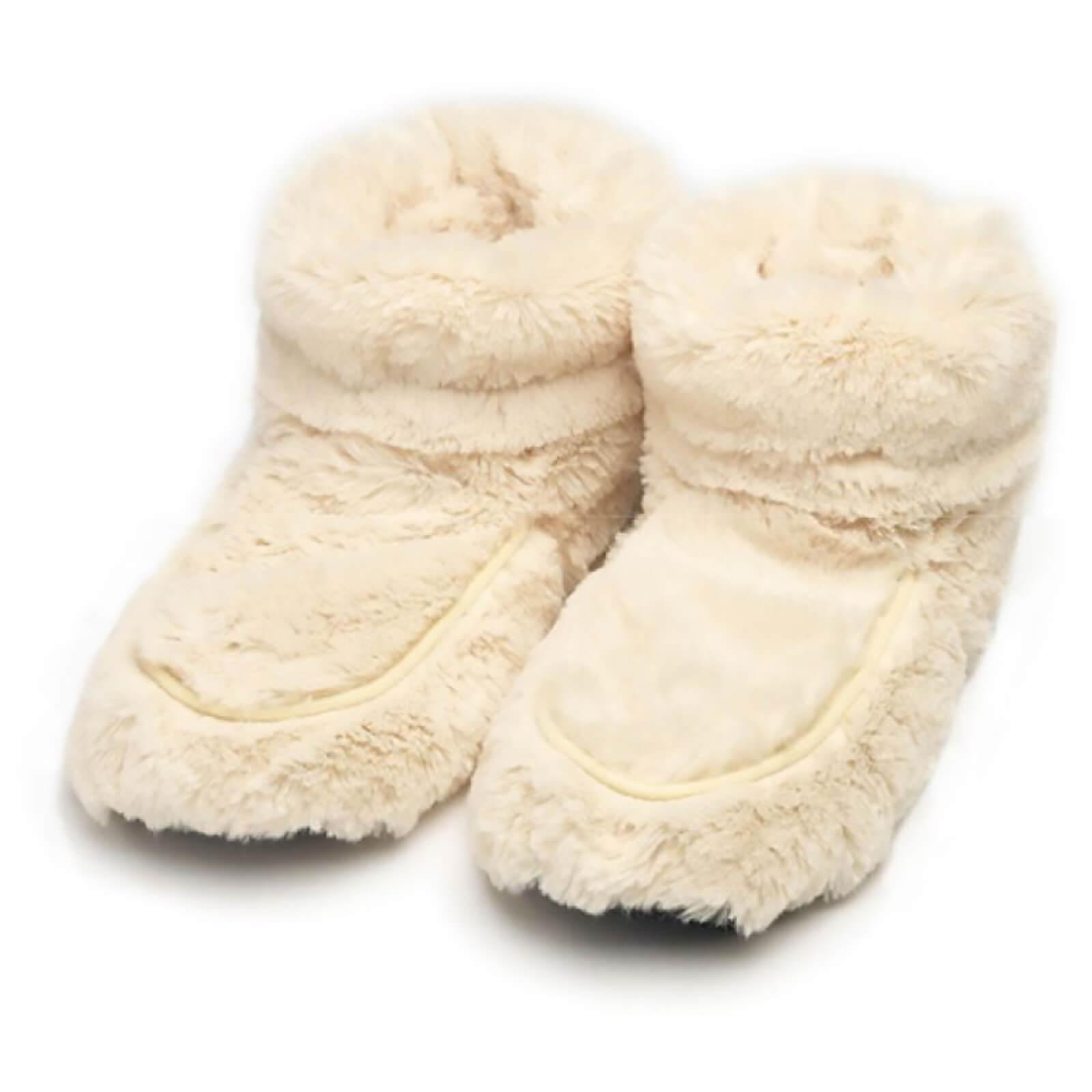 3aa026c312b Warmies Hot Boots - Cream