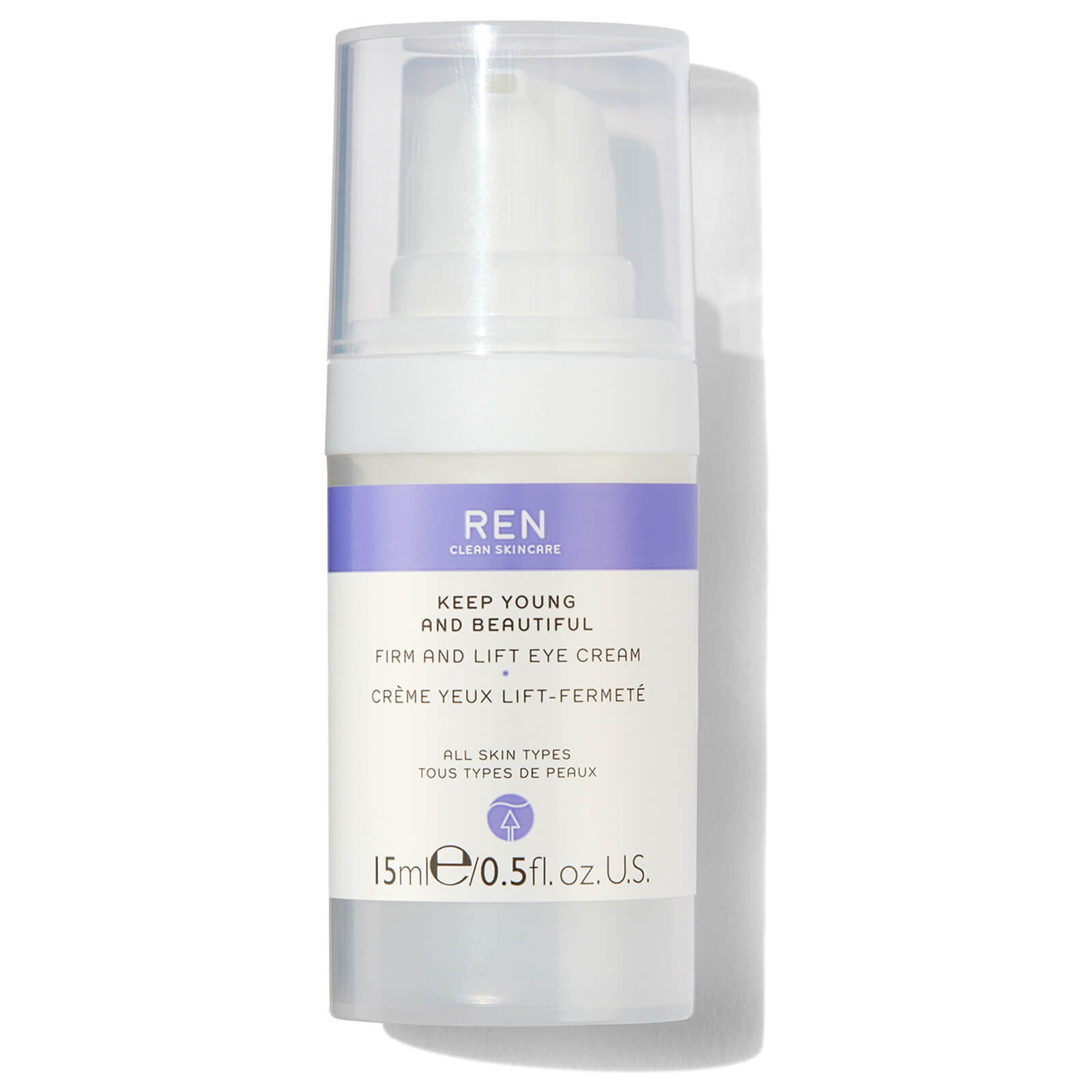 Ren Clean Skincare Keep Young And Beautiful Firm And Lift Eye Cream Free Us Shipping Lookfantastic
