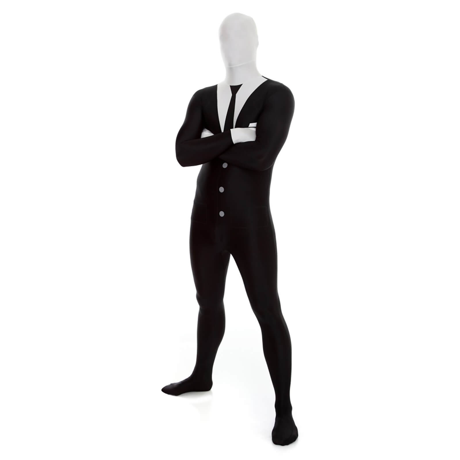 Morphsuit Adulte Slenderman - Noir