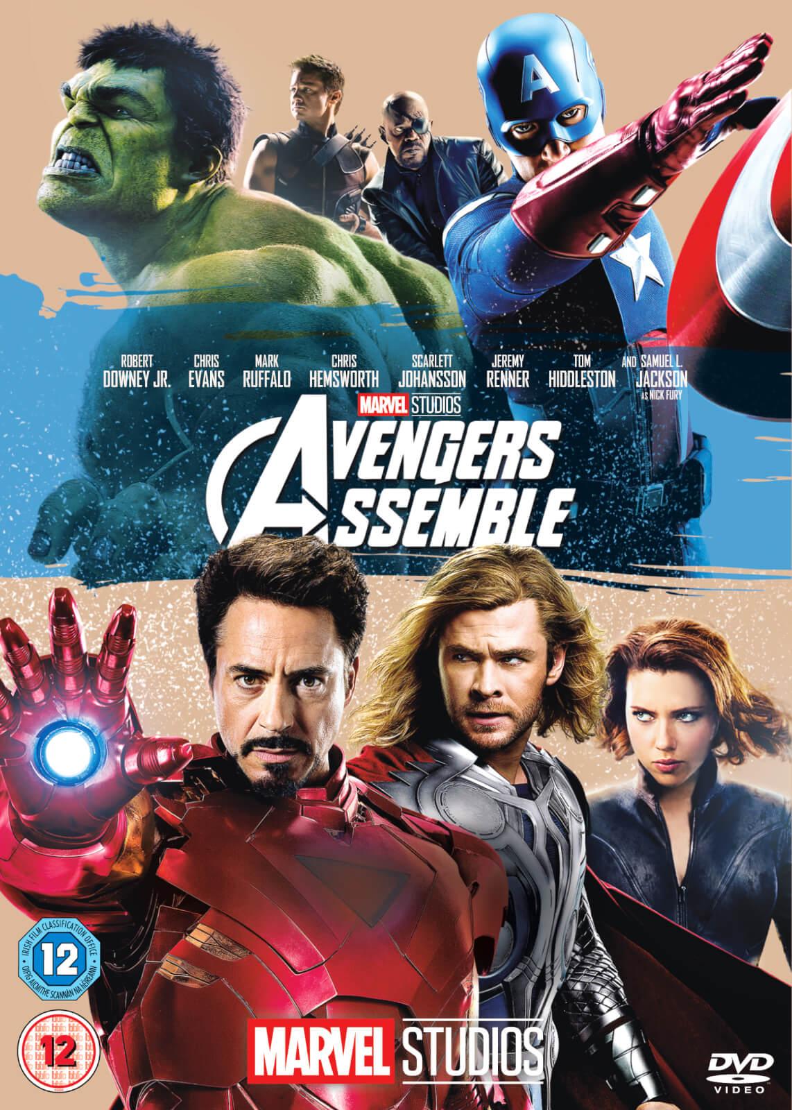 Marvel Avengers Assemble Dvd Zavvi