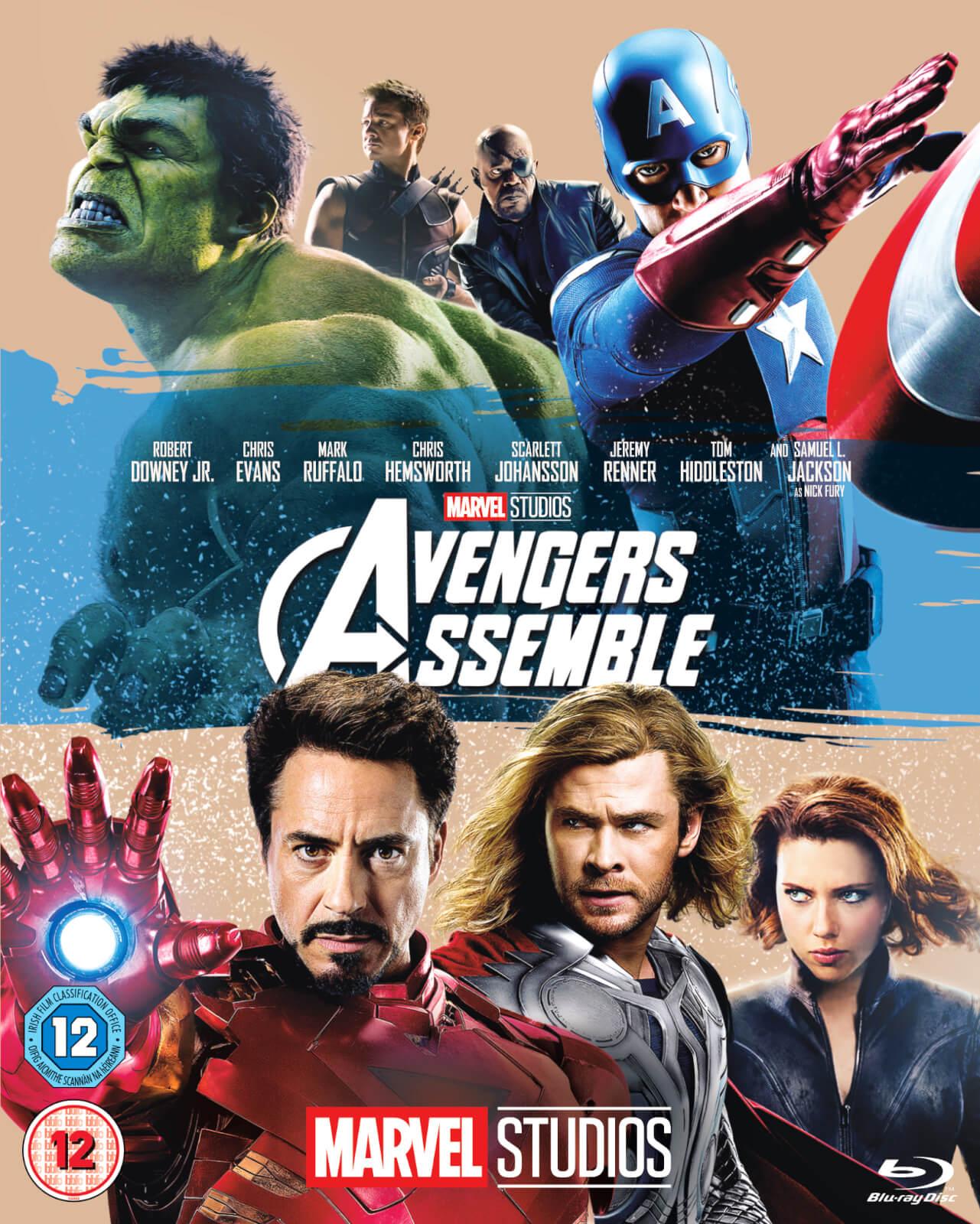 Marvel Avengers Assemble Blu Ray Zavvi