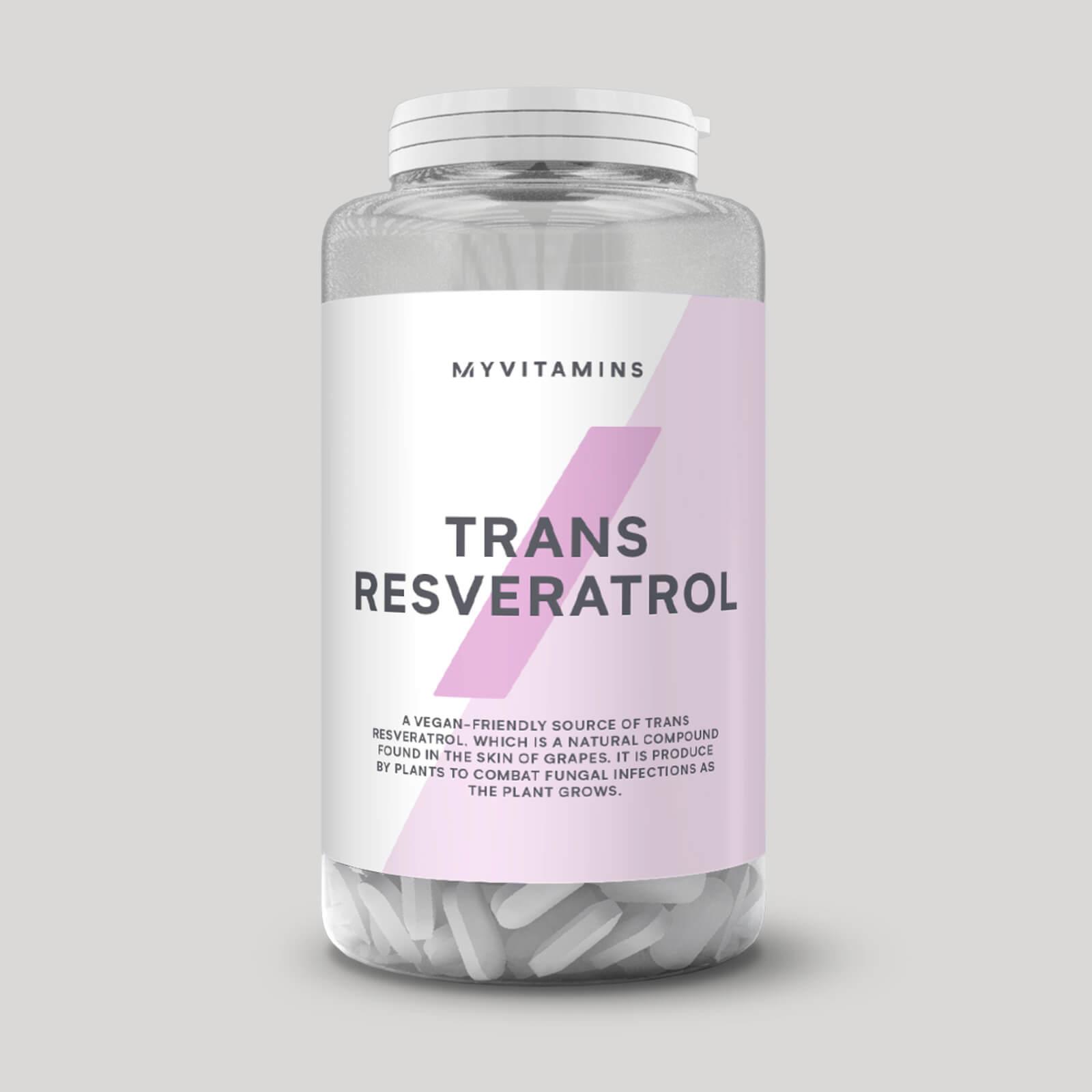 Trans Resveratrol Tablets Myprotein