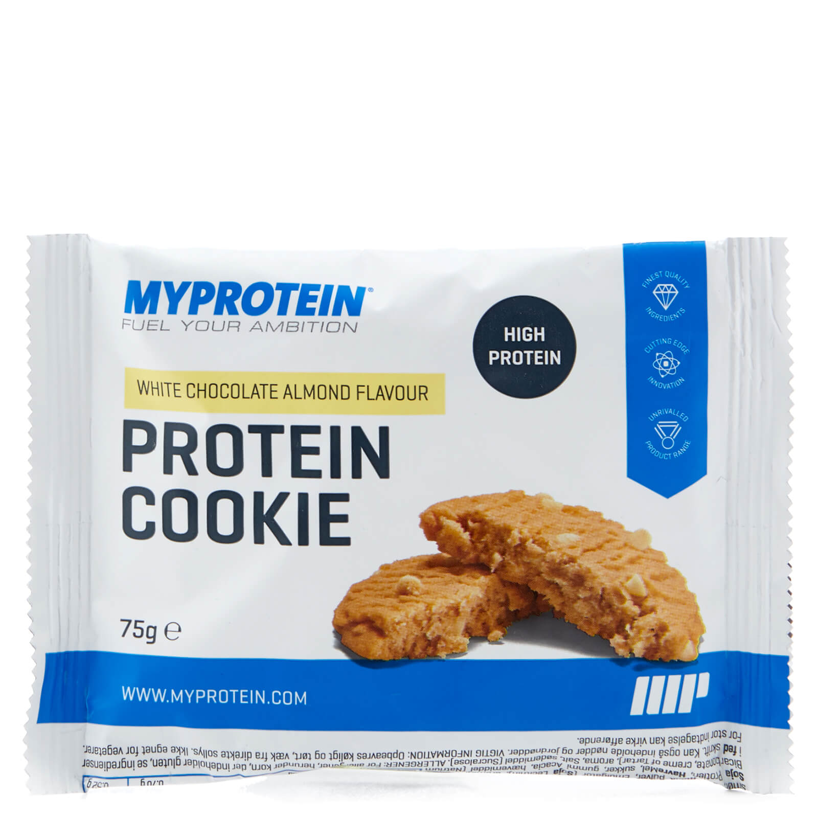 MP Max Protein Cookie, White Chocolate Almond, Foil, 75g