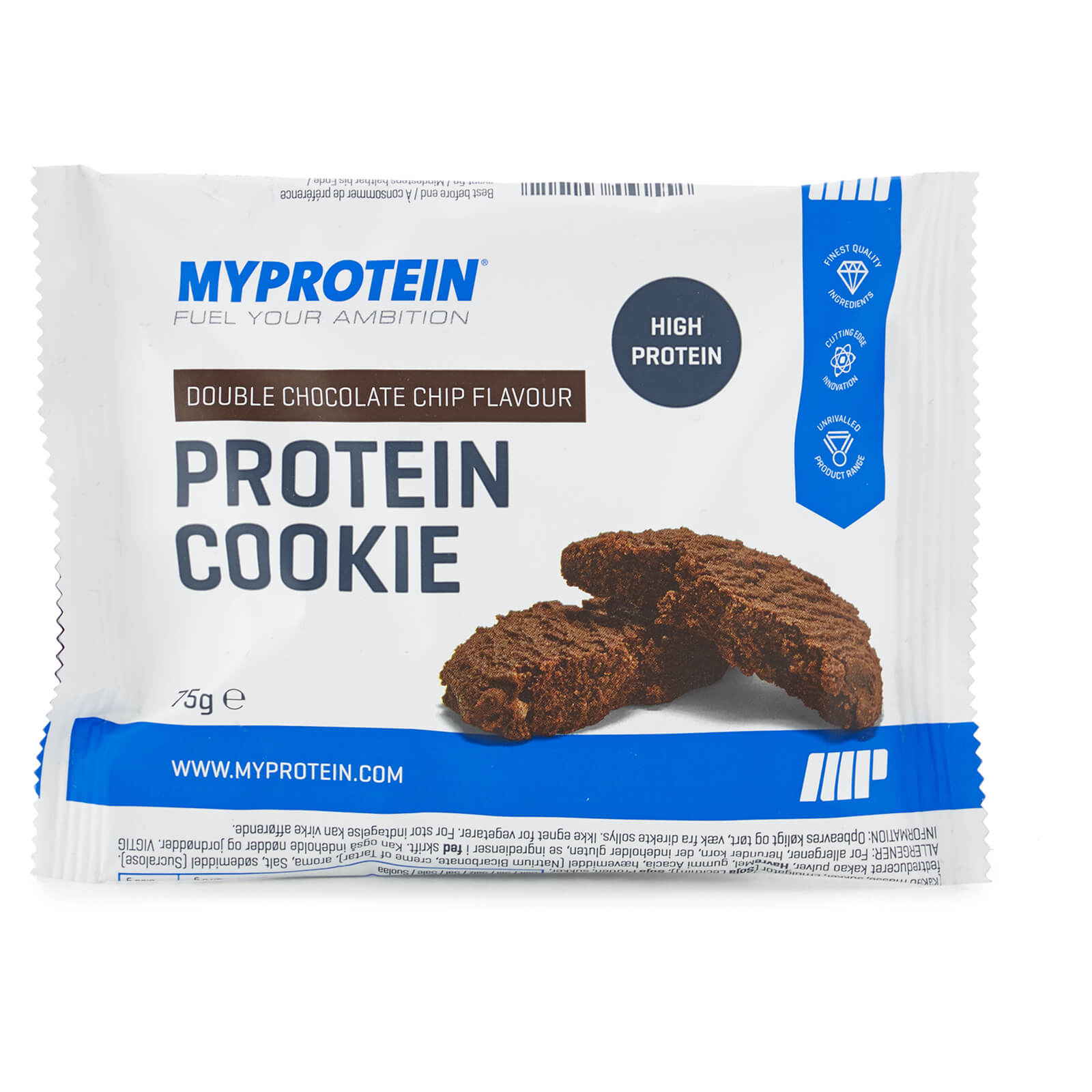 Protein Cookie (Sample), Double Chocolate, Foil, 75g