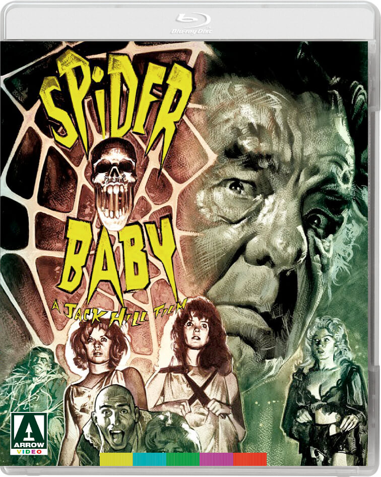 Spider Baby (Includes DVD)