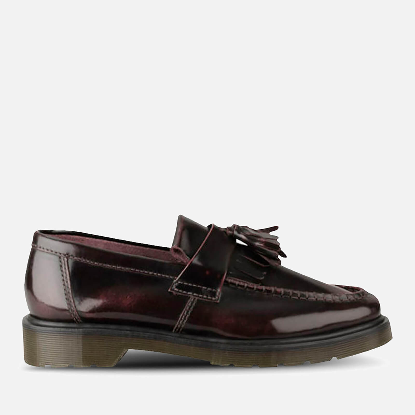 2f7bb7e7388 Dr. Martens Men s Adrian Tassel Leather Loafers - Cherry Red - Free UK  Delivery over £50