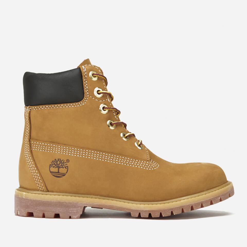 Timberland Women's 6 Inch Nubuck Premium Boots - Wheat - UK 4