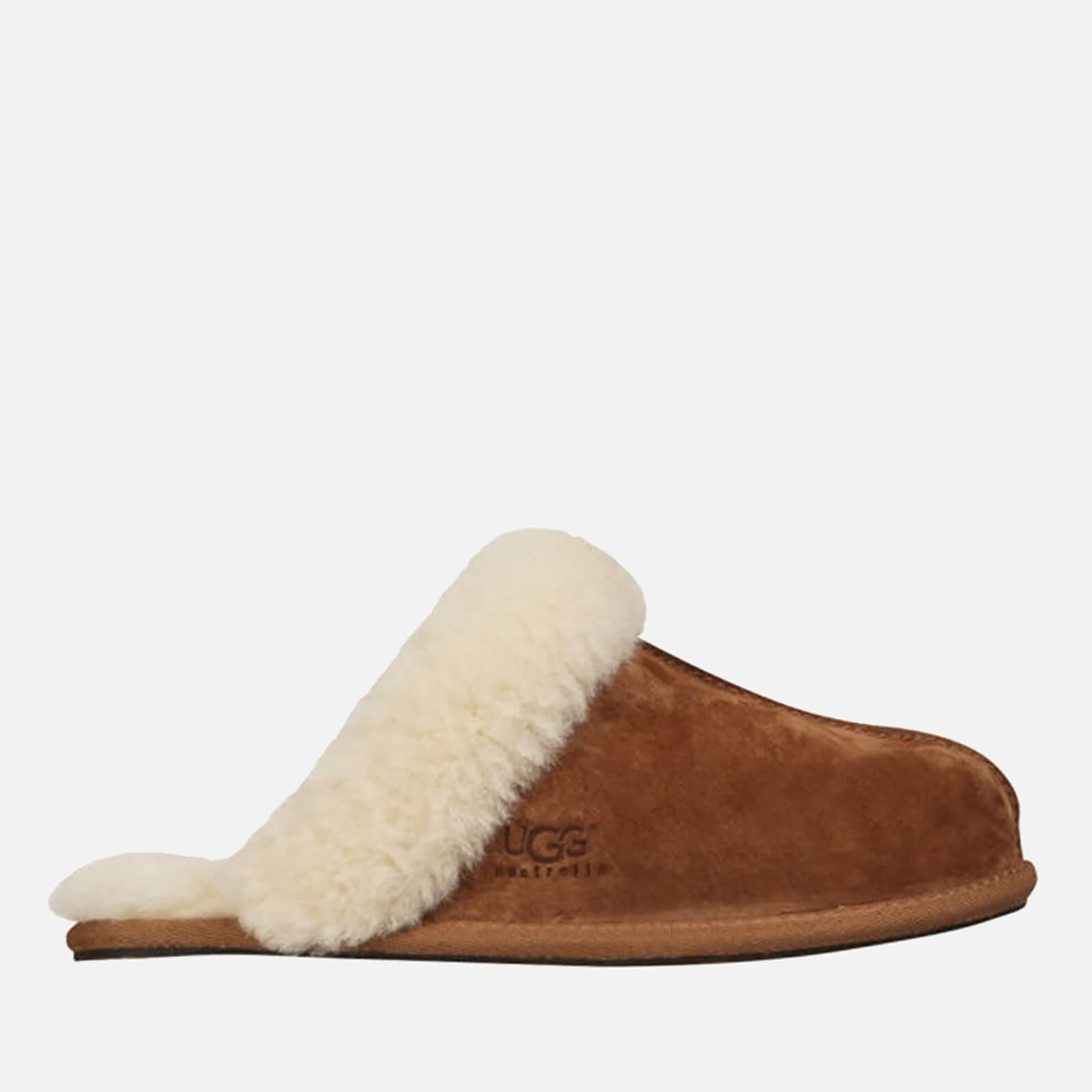d09db6a9cf04b1 UGG Women s Scuffette II Sheepskin Slippers - Chestnut - Free UK Delivery  over £50