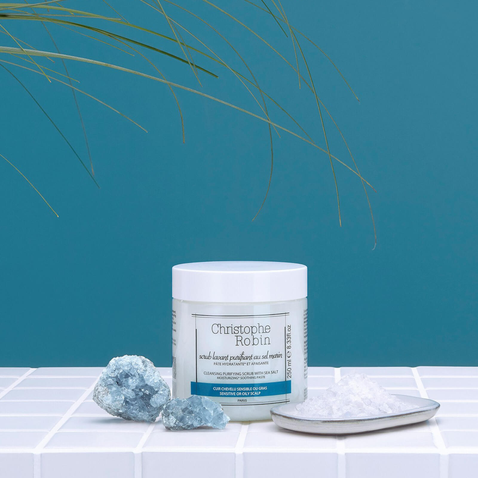 Christophe Robin Cleansing Purifying Scrub with Sea Salt (250ml)